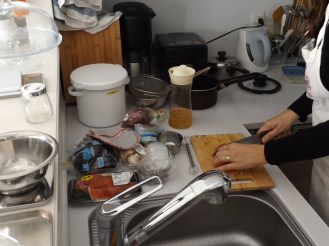 Japanese cooking lesson