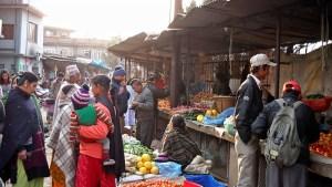 A Nepal Market