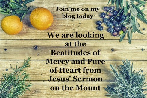 Beatitudes, Merciful, Pure of Heart, Sermon on the Mount, Living like Jesus