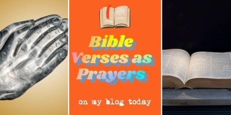 Bible Verses as Prayers