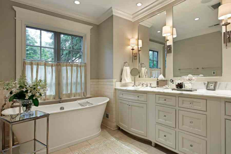 How to reduce shadows in your bathroom   Turn It On Electric Fortunately  plenty of choices are available that will turn the lighting  into an attractive and fully functional system  One that helps you perfect the  look