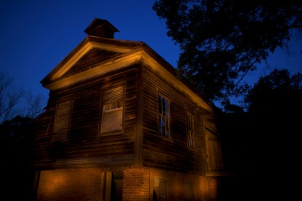 The Fambro House (circa 1841) is one of the few buildings still standing at Old Cahawba Archaeological Park in Alabama during the early morning hours of Thursday, April 15, 2010.