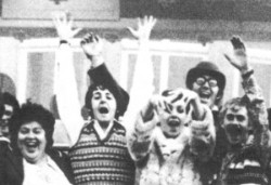 Image result for magical mystery tour booklet picture hand over paul's head