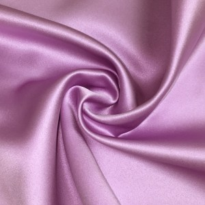 Pipe Pocket Lilac or Light Purple Shiny Satin Sample Swatch For Turn of Events Rental Drapery Las Vegas