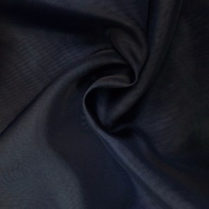 Pipe Pocket Black Sheer Voile Chiffon Sample Swatch For Turn of Events Rental Drapery Las Vegas