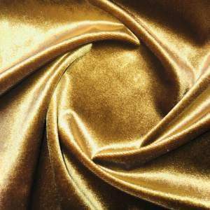 Pipe Pocket Ice Gold Velour Ice Gold Velvet Sample Swatch For Turn of Events Rental Drapery Las Vegas