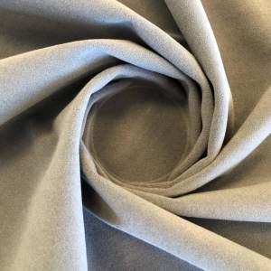 Pipe Pocket Medium Gray Velour Gray Velvet Sample Swatch For Turn of Events Rental Drapery Las Vegas
