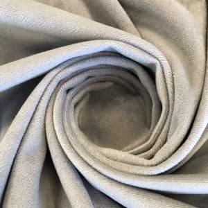 Pipe Pocket Soft Gray Velour Gray Velvet Sample Swatch For Turn of Events Rental Drapery Las Vegas