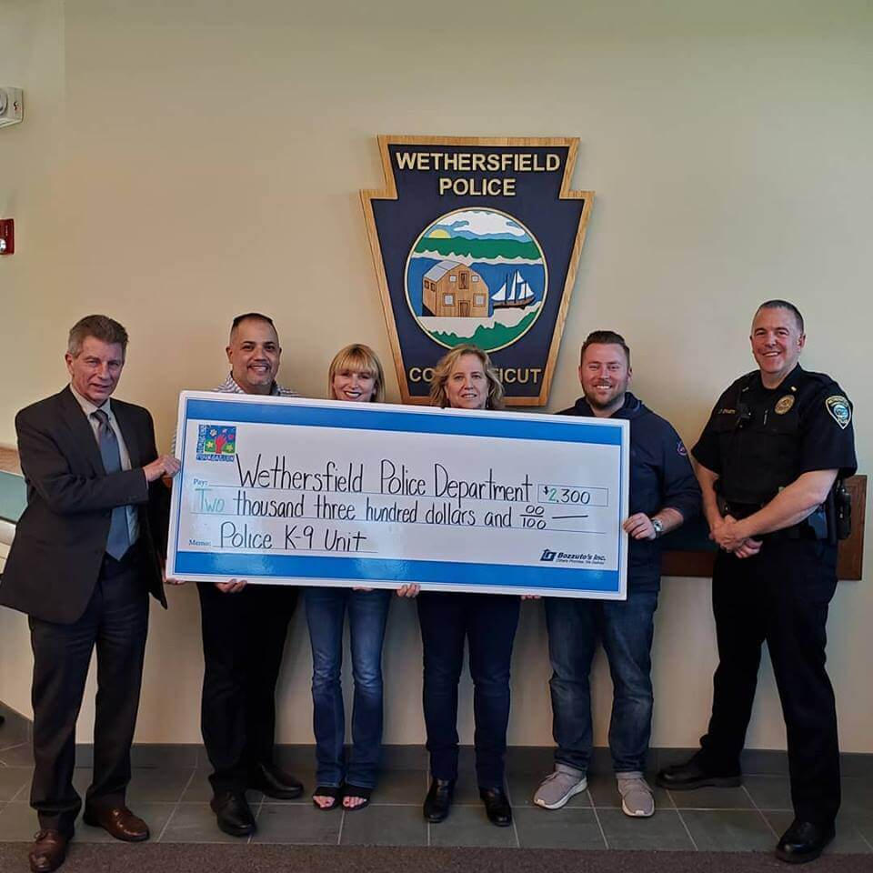 Wethersfield Police Dept - Donation