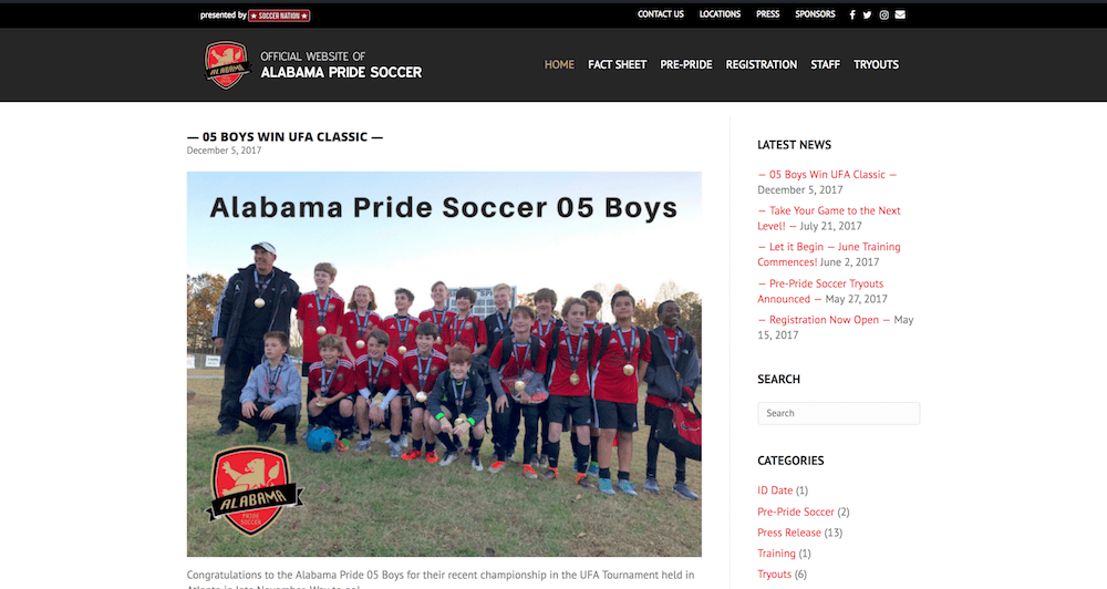Alabama Pride Soccer Club
