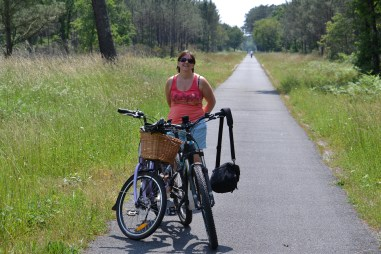 A long cycle ride to nowhere in the heat
