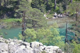 From the path up to Lac du Gaube