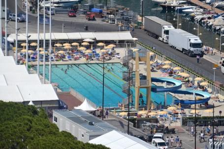 The 'swimming pool'