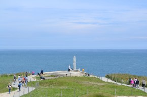 Pont du Hoc where the Americans scaled the cliffs