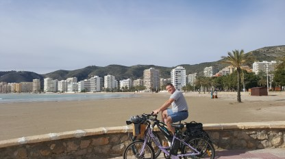 On the seafront at Cullera
