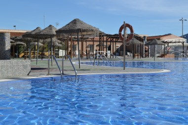 Swimming pool at Los Madriles