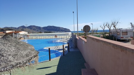 Los Madriles outdoor pool