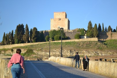 View from outside the walls of Ciudad Rodrigo