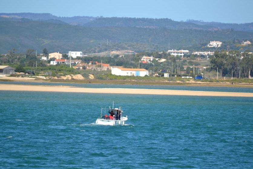 Fishing boat on the 'inland' sea