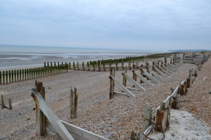 Rye Harbour beach from Mary Sandford Lifeboat station 21.4