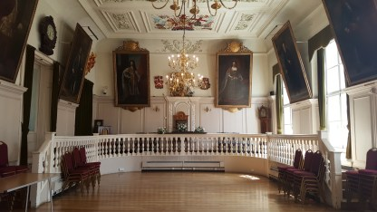 Inside the Guildhall at Rochester