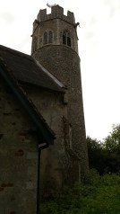 The tower of St Peters, Theberton