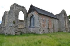 Leiston Abbey, chapel still in use