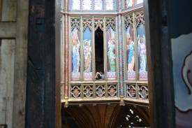 The Angel Panels (Victorian addition) of the Lantern Tower, Ely Cathedral