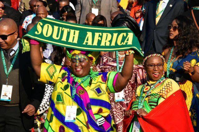 ramaphosa sa inauguration colourful
