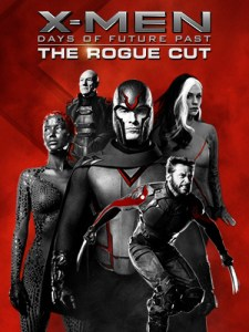 X-Men Days of Future Past Rogue Cut Blu-Ray Box Cover Art