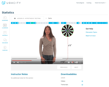Udacity: Hypothesis testing
