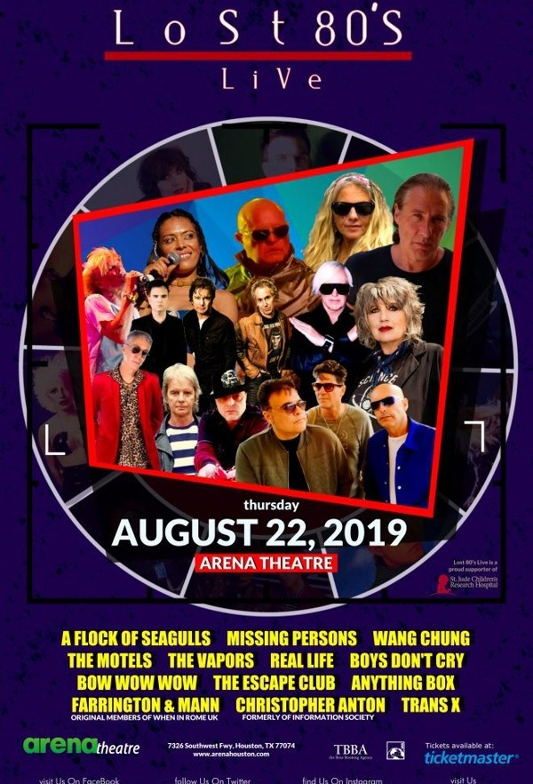 Turn To Productions, LLC » Clay Walker   Arena Theatre   AUG 23, 2019