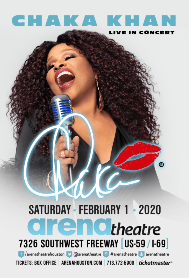 Chaka Khan at Arena Theatre