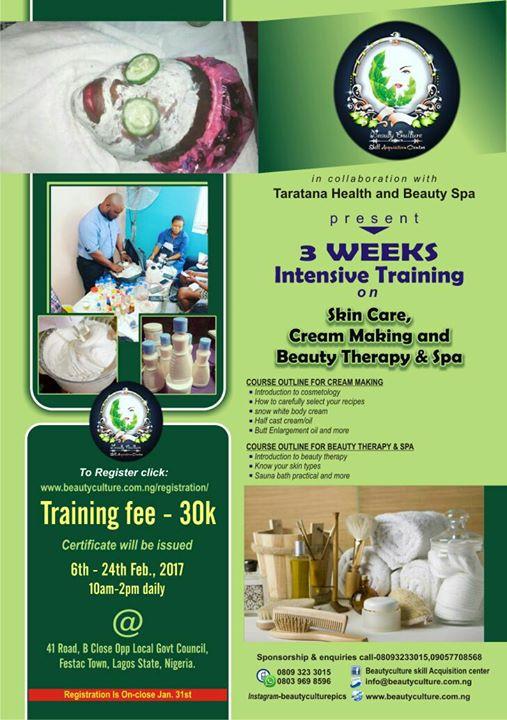 Beauty Intensive Training