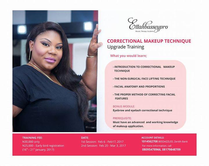 Correctional Makeup Training