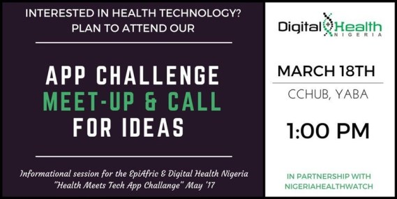 App Challenge Meet-Up and Call for Ideas
