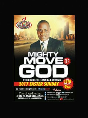 Mighty Move of God