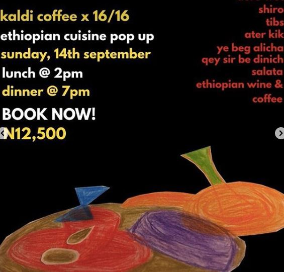 Ethiopian Cuisine Pop Up