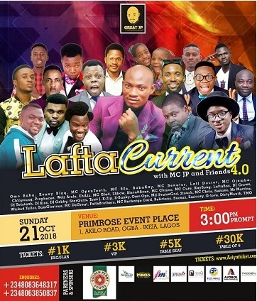 Lafta Current With MC JP And Friends 4.0