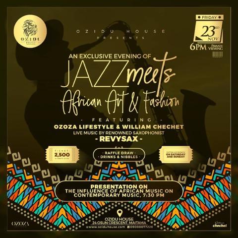 Jazz Meets African Art & Fashion