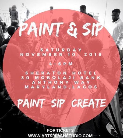 Paint+Sip+Create