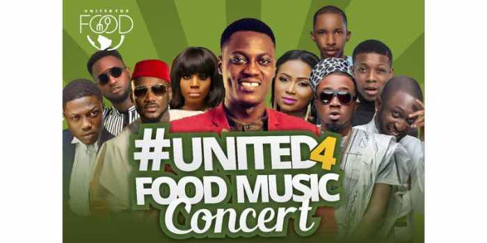 #United4Food Music Concert 2018