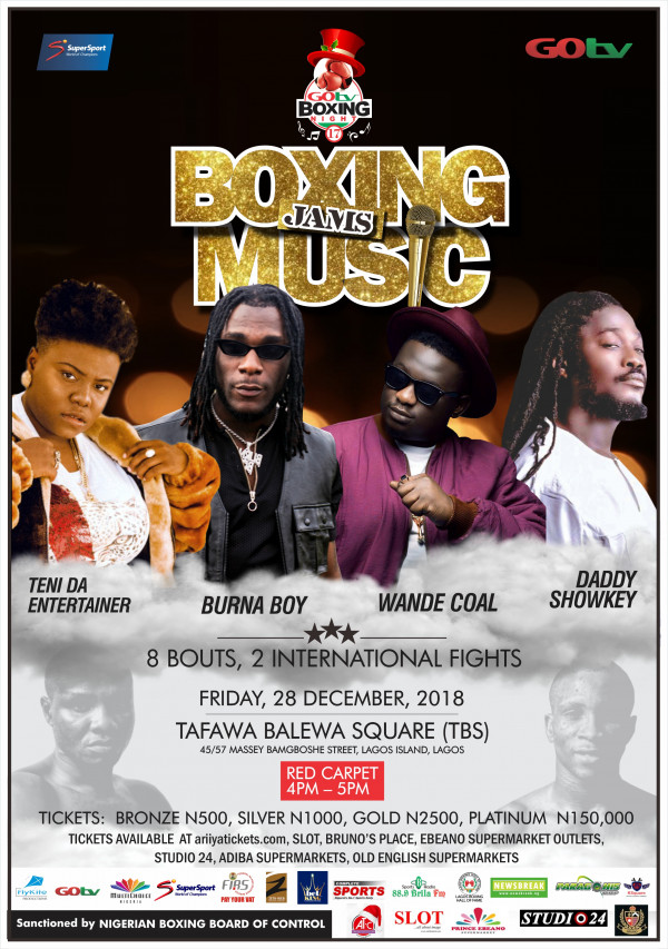 Boxing Jams Music