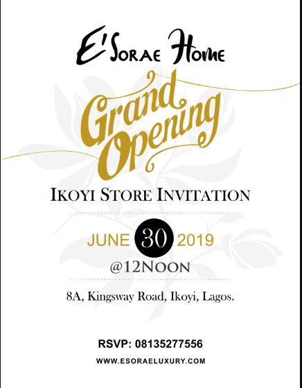E'Sorae Luxury Grand Opening