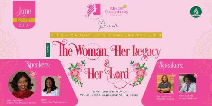 Kings Daughter's Conference 2019
