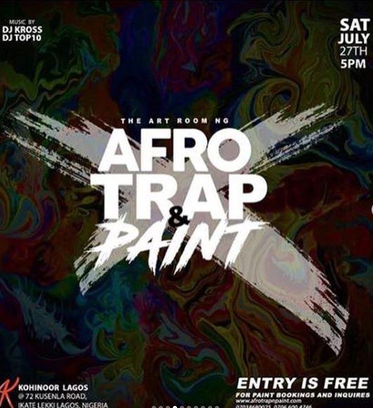 Afro Trap & Paint