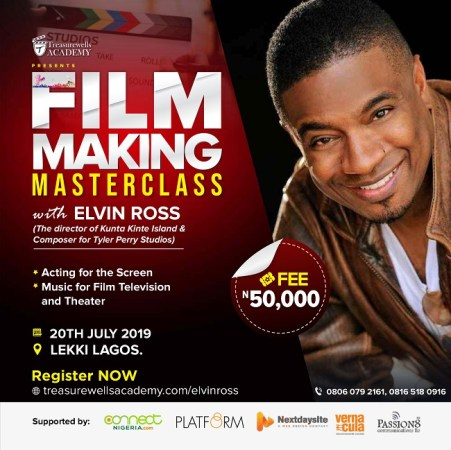 Film Making Masterclass With Elvin Ross