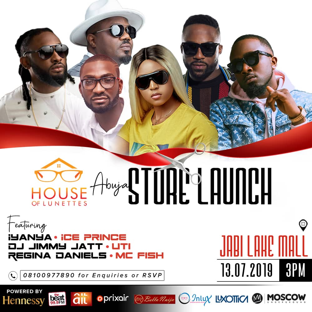 House of Lunettes Abuja Store Launch