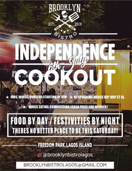 Independence Cookout