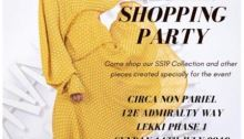 Meena's Shopping Party